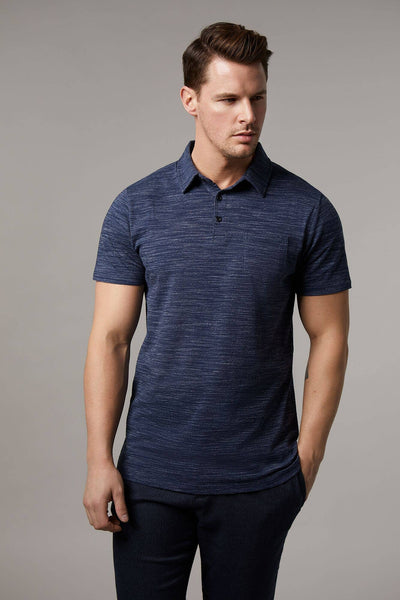 Johnny Cotton Melange Polo