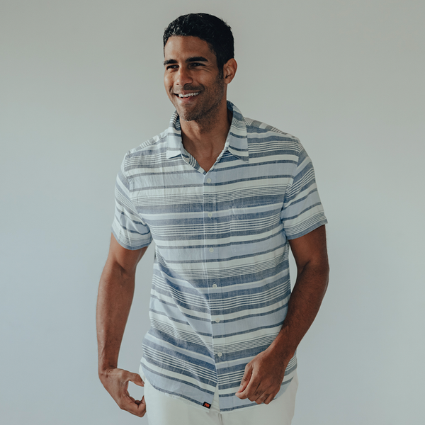 The Normal Brand Freshwater Short Sleeve Shirt