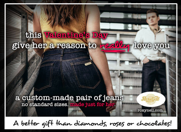 Custom Pair of Jeans Gift Card!