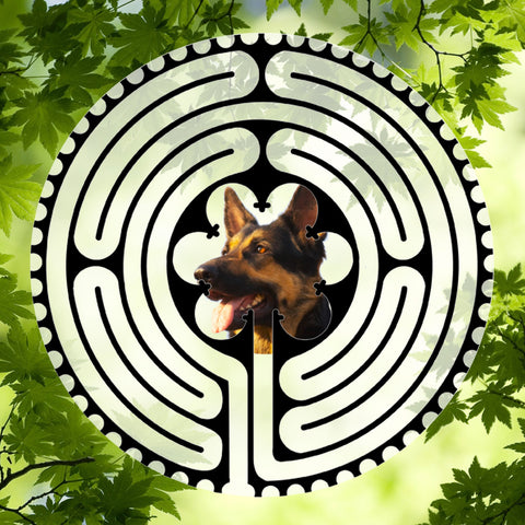 German Shepherd - Doggy Labyrinth-maze