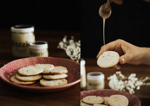 Lavender Honey Shortbread Cookies