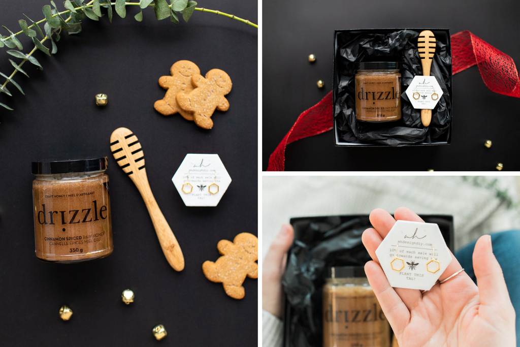 Drizzle Bestow Holiday donation Gift Set