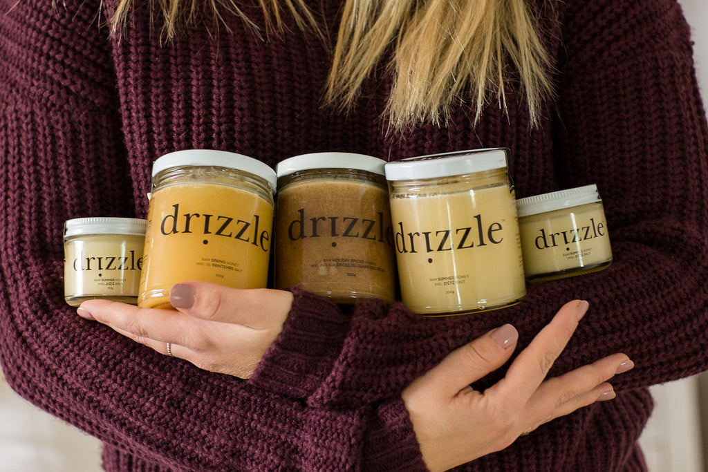 The full Drizzle Online Honey collection