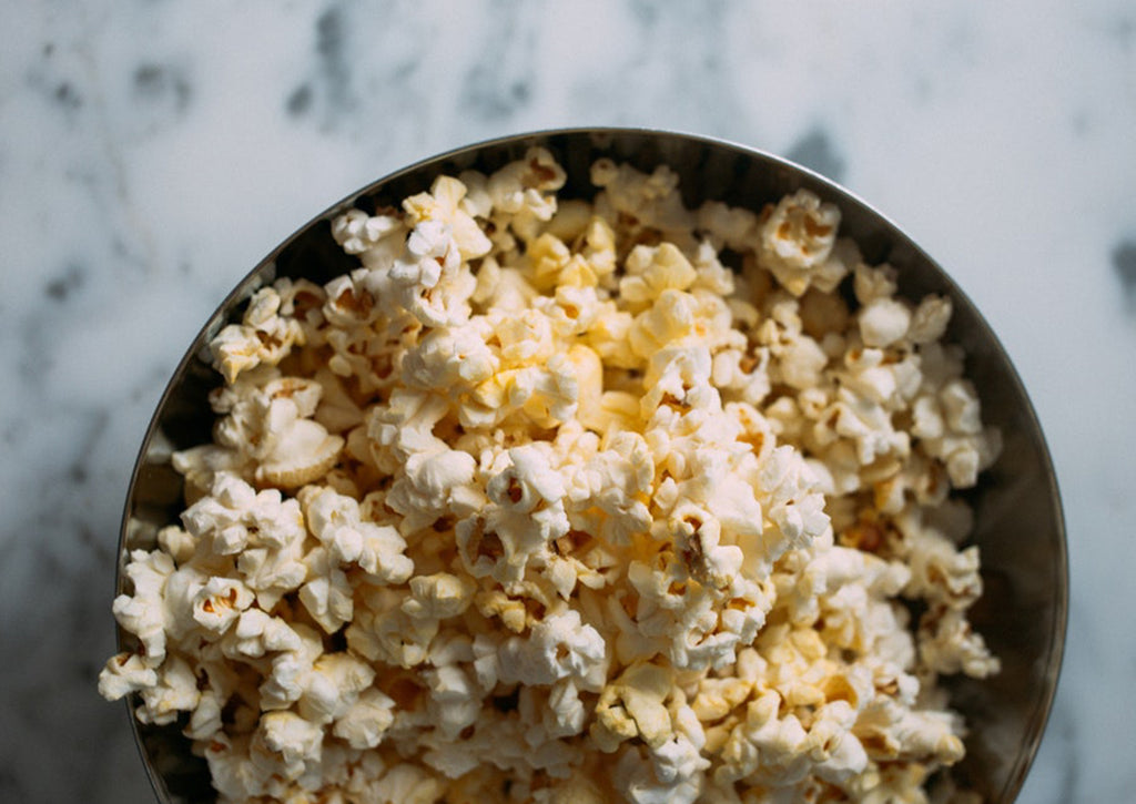 Honey Butter Drizzle Popcorn