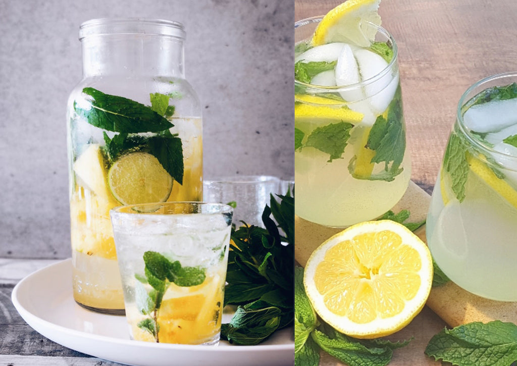 Ginger Honey Sparkling Lemonade