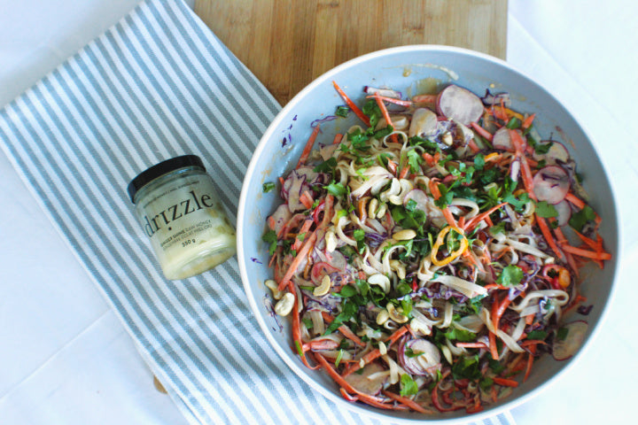 Thai Rainbow Noodle Salad