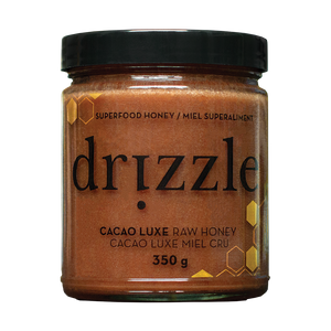 Drizzle Raw Canadian Cacao Honey