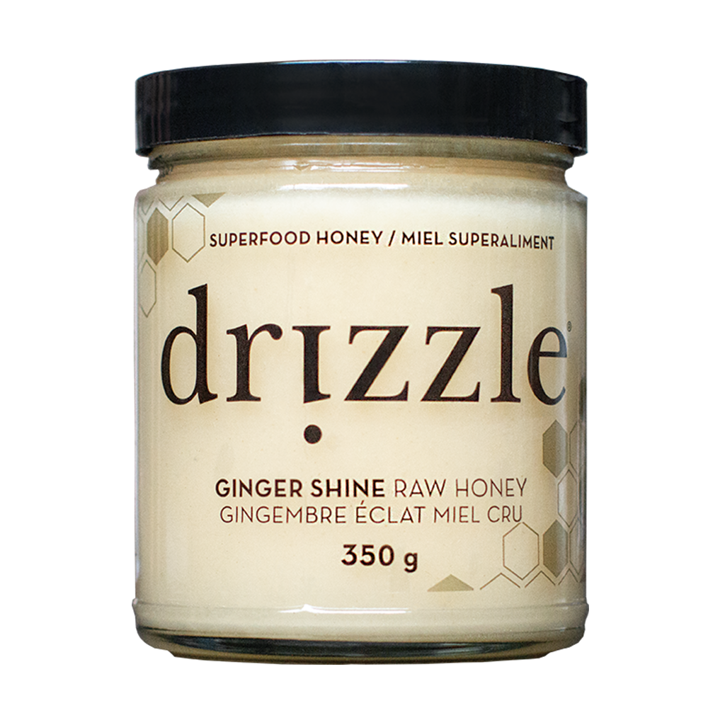 Drizzle Ginger Shine Raw Honey