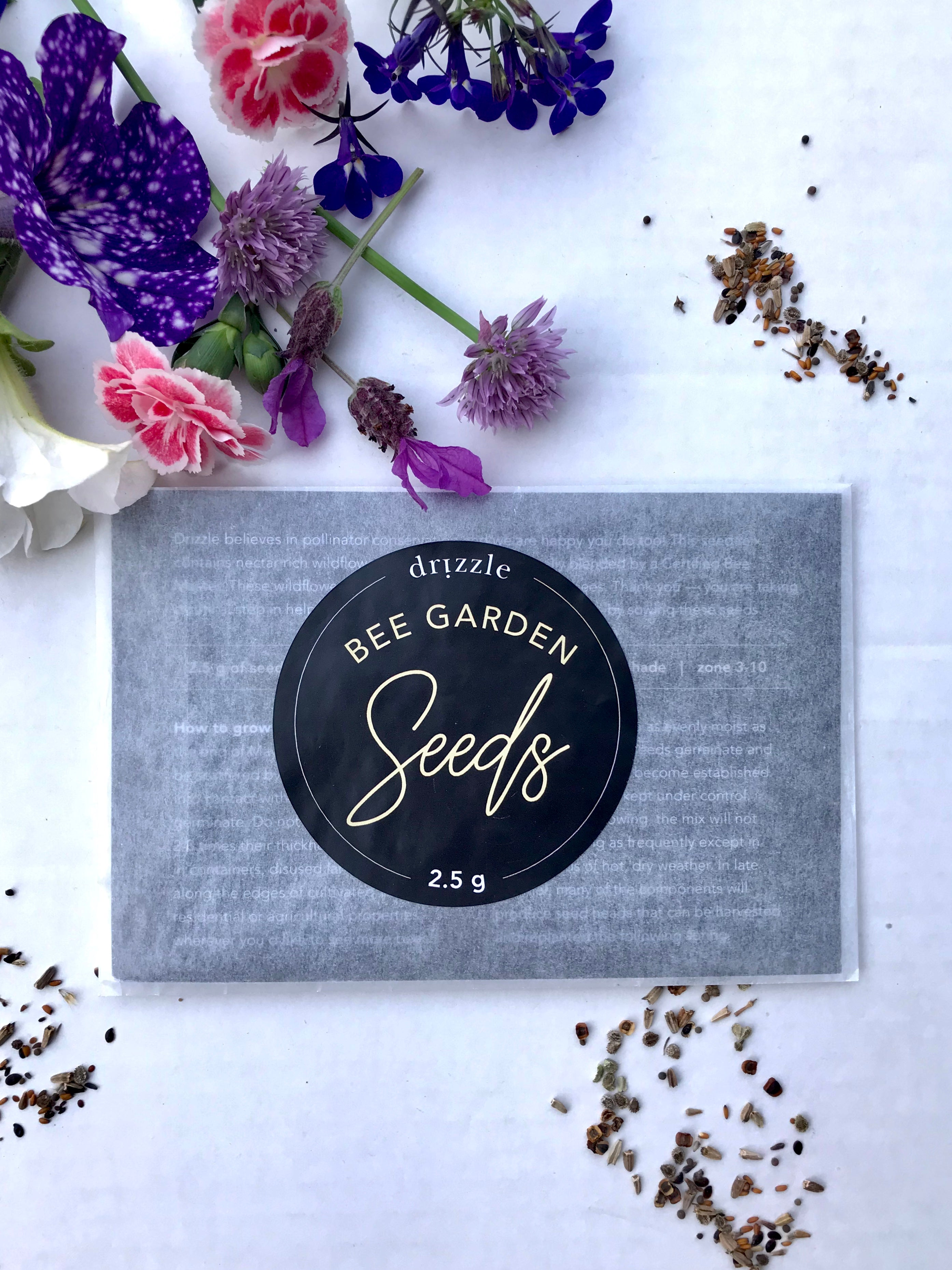 Drizzle Bee Garden Seeds