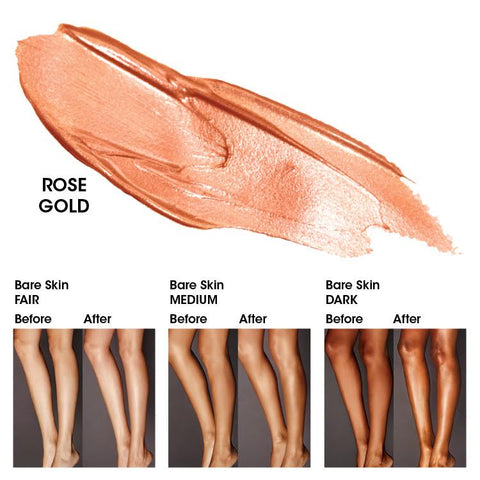 Gleam Body Radiance in Rose Gold