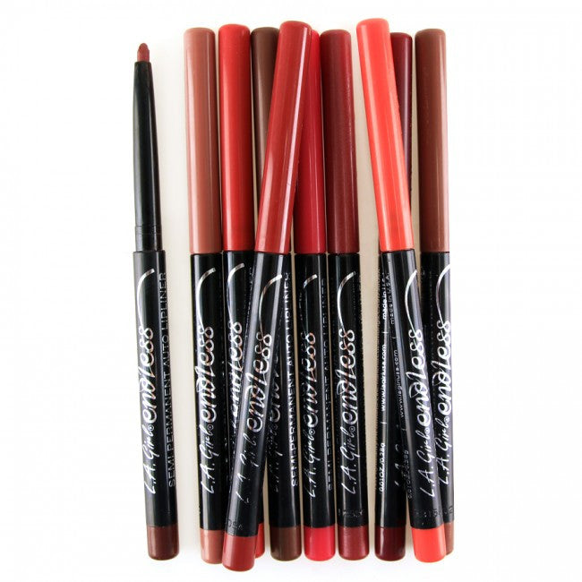 LA Girl True Red Endless Auto Lipliner