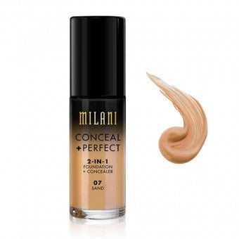 Milani Sand Conceal + Perfect 2-in-1 Foundation + Concealer