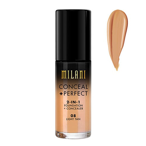 Milani Light Tan Conceal + Perfect 2-in-1 Foundation + Concealer