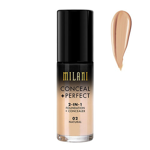 Milani Natural Conceal + Perfect 2-in-1 Foundation + Concealer