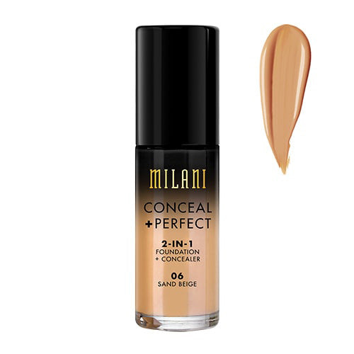 Milani Sand Beige Conceal + Perfect 2-in-1 Foundation + Concealer