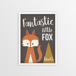 Fantastic Fox Personalised Print