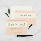 Monica Wedding Invitation