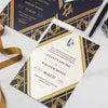 Orrin Art Deco Wedding Invitation