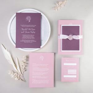 Rachel Wedding Invitation