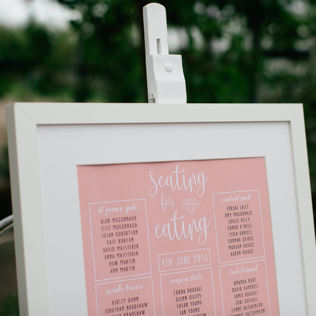 Monica Wedding Table Plan