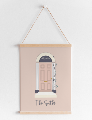 Personalised Door Print