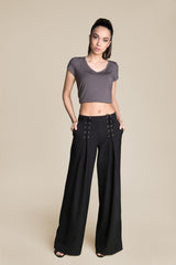NOT AN ORDINARY GIRL CRISS-CROSS STRINGS PANTS