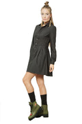 UPSCALE MINI SKATER SHIRT-DRESS
