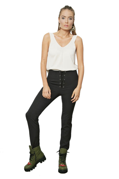 MAGNETIC & FLATTERING HIGH-WAIST PANTS