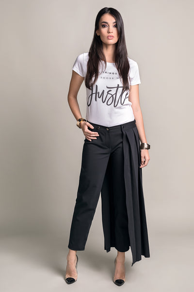 GOING VOGUE CROPPED SKIRT-PANTS