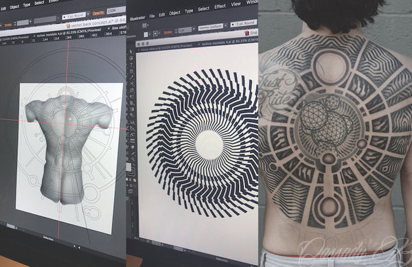 Create Mind-Blowing Geometric Tattoos with Cassady Bell