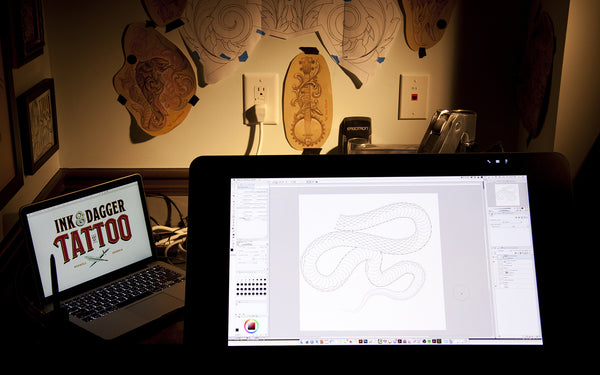 The tattooers guide to digital design.