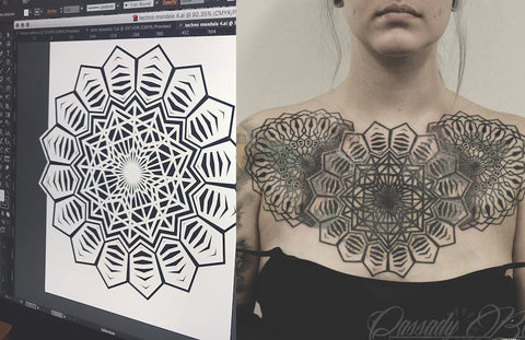 Cassady Bell Tattoo Smart Geometric Designs Illustrator Tattoo Tattoos Design