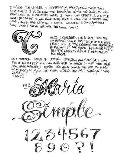 eBook: Lettering Guides 1-3 by BJ Betts