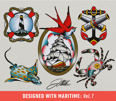Brush Set: Maritime Vol. 1