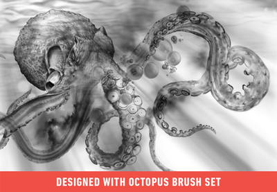 Brush Set: Octopus