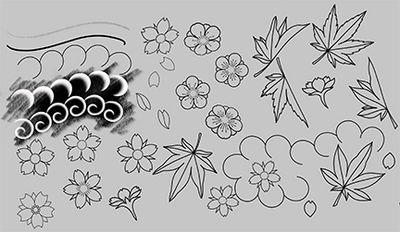 Brush Set: Japanese