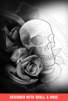 Brush Set: Skull & Rose