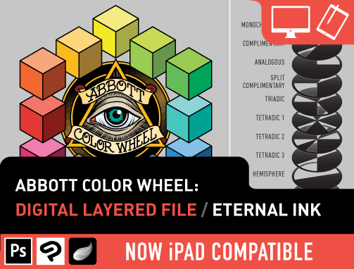 Abbott Color Wheel: Digital Kit