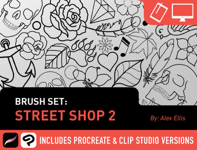 Brush Set: Street Shop 2