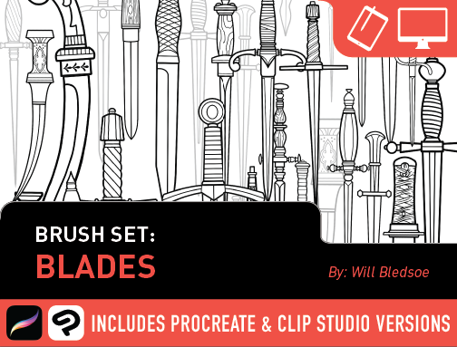 Brush Set: Blades
