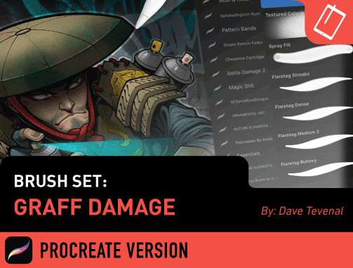 Brush Set: Graff Damage