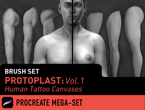Procreate Mega-Set: Protoplast Vol. 1