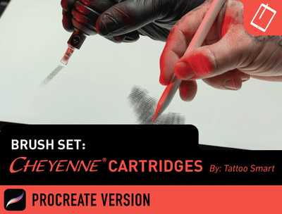 Brush Set: Cheyenne Cartridges
