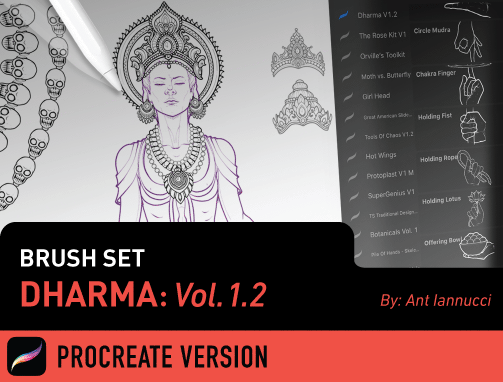 Brush Set: Dharma