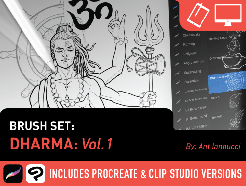 Brush Set: Dharma Vol. 1