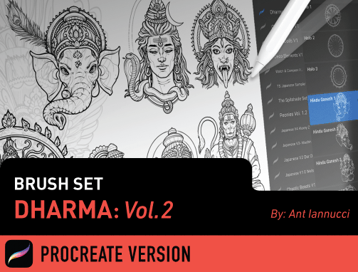 Brush Set: Dharma Vol. 2
