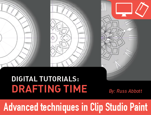 Digital Tutorials: Drafting Time (Clip Studio #3)