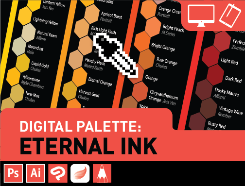 Digital Palettes: Eternal Ink