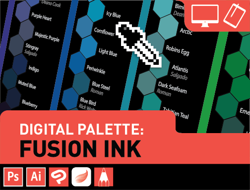 Digital Palettes: Fusion Ink