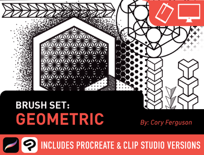 Brush Set: Geometric